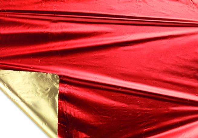 Bobina decor metallizzato hd bicolor tendence 2 lati oro/rosso mt 1X20 mt