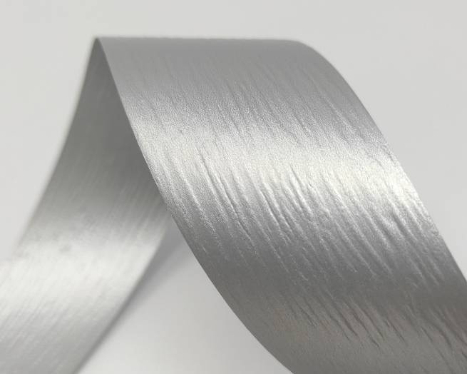 Rotolo nastro carta sintetica colori metallizzati, altezza 35 mm, in bobina da 250 mt