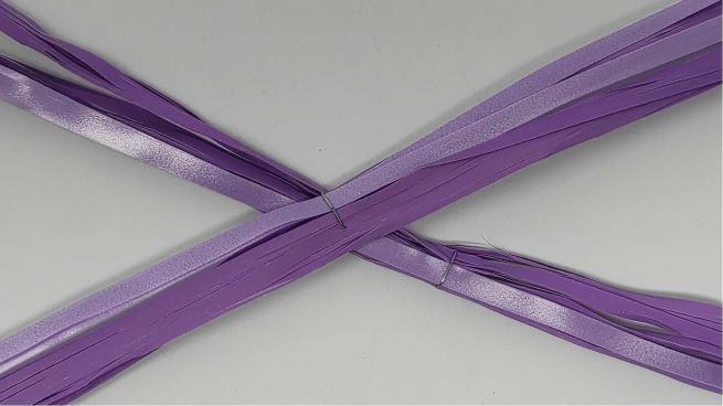 Rafia basic sveltostrip in confezione da 50 pezzi, diametro fiocco 8 cm