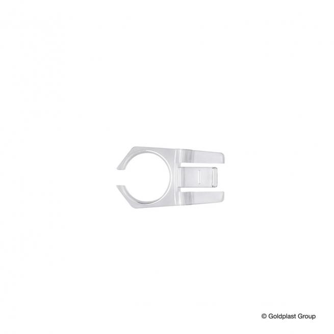 Gancetto plastica trasparente porta calici flutes confezione da 10 pezzi