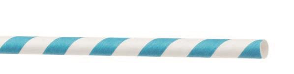 Cannucce in carta kraft colori assortiti biodegradabili confezione da 250 pezzi