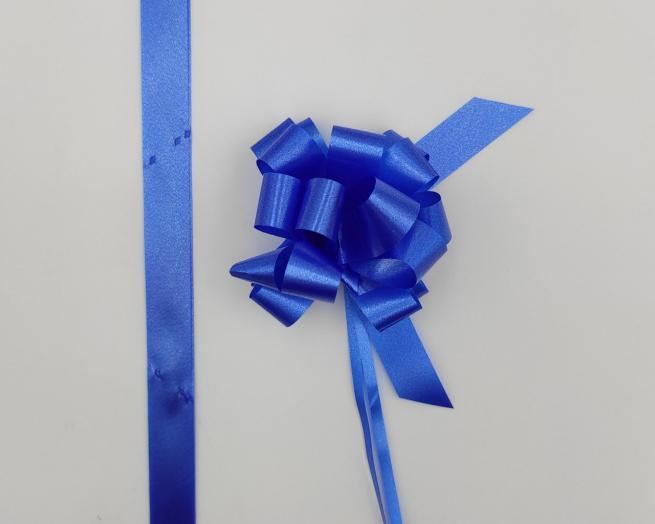 Coccarda laccio velox diamant blu confezione da 30 pezzi