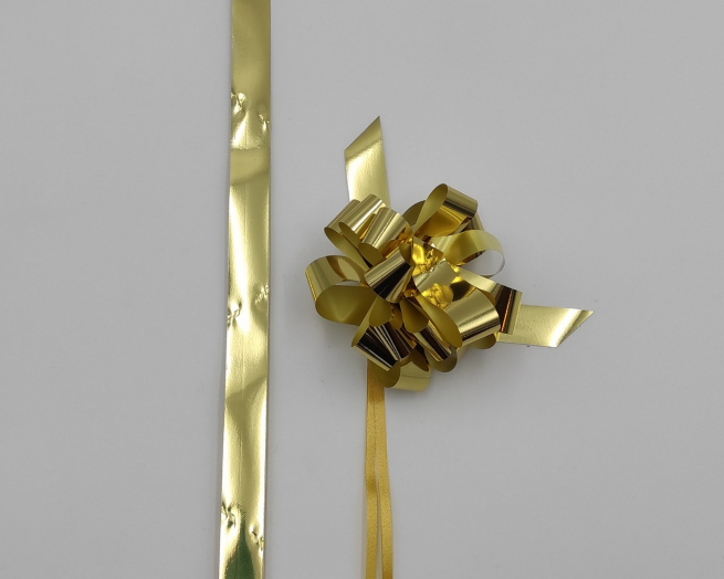 Coccarda laccio velox lux oro metallizzato
