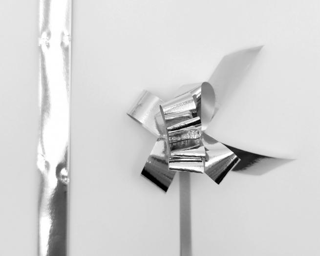 Mini coccarda laccio galax lux metallizzate confezione da 50 pezzi