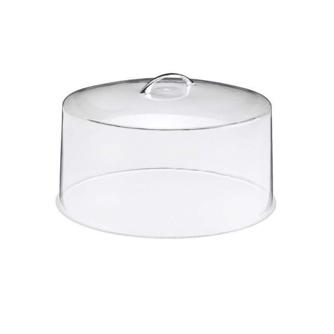 Coperchio a campana in plexiglass trasparente diametro 30cm. H.14 cm